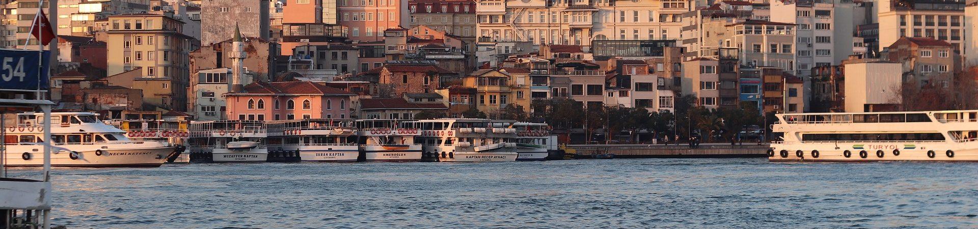 Den Blå Moske i Istanbul